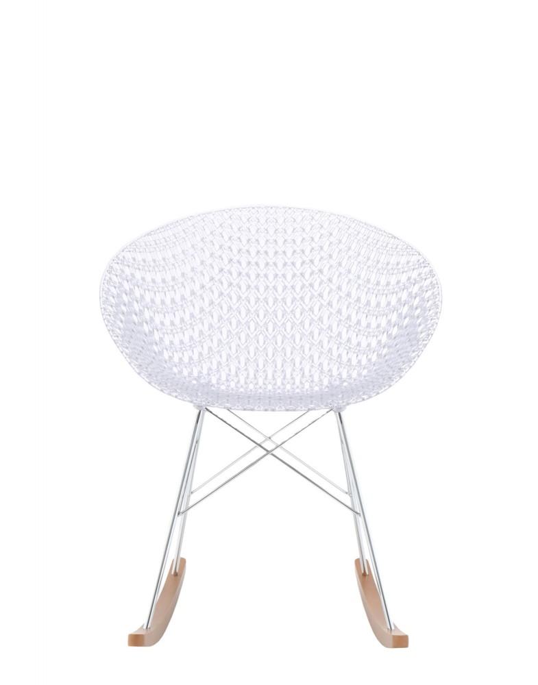 Кресло Smatrik (кристалл/хромированное) на салазках