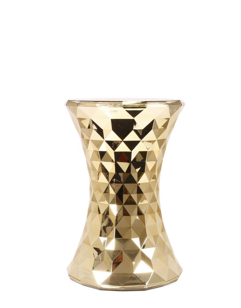 Табурет Stone (золотой)