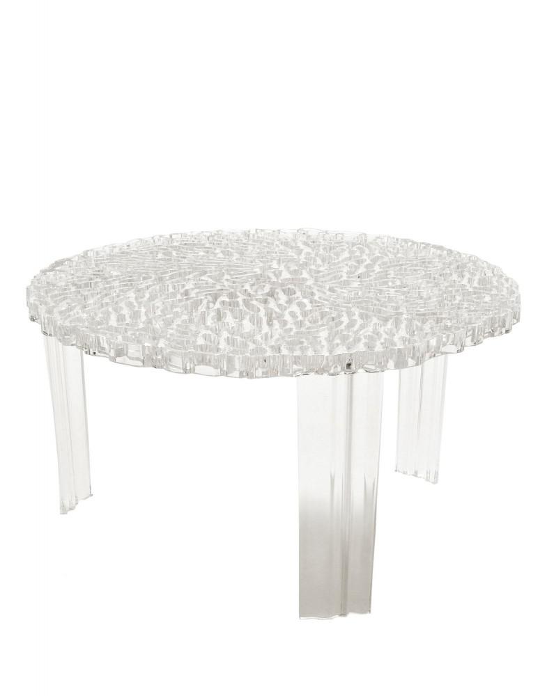 Столик журнальный T-Table (кристалл) высота 28см