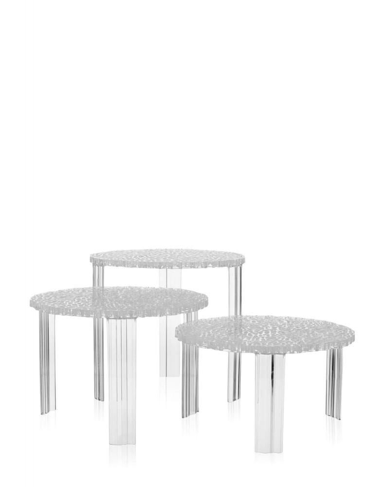 Столик журнальный T-Table (кристалл) высота 36см