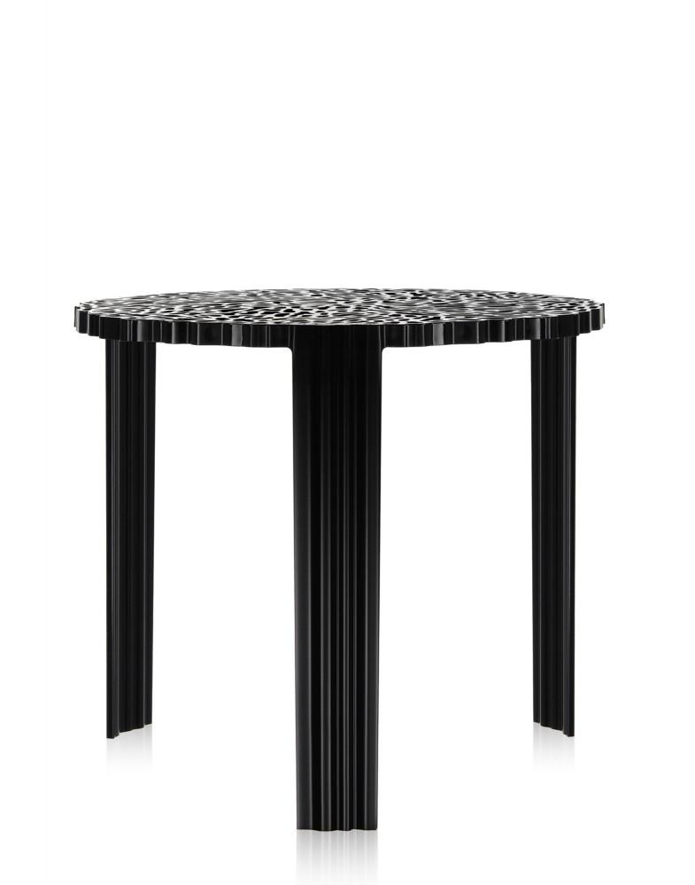 Столик журнальный T-Table (черный) высота 36см