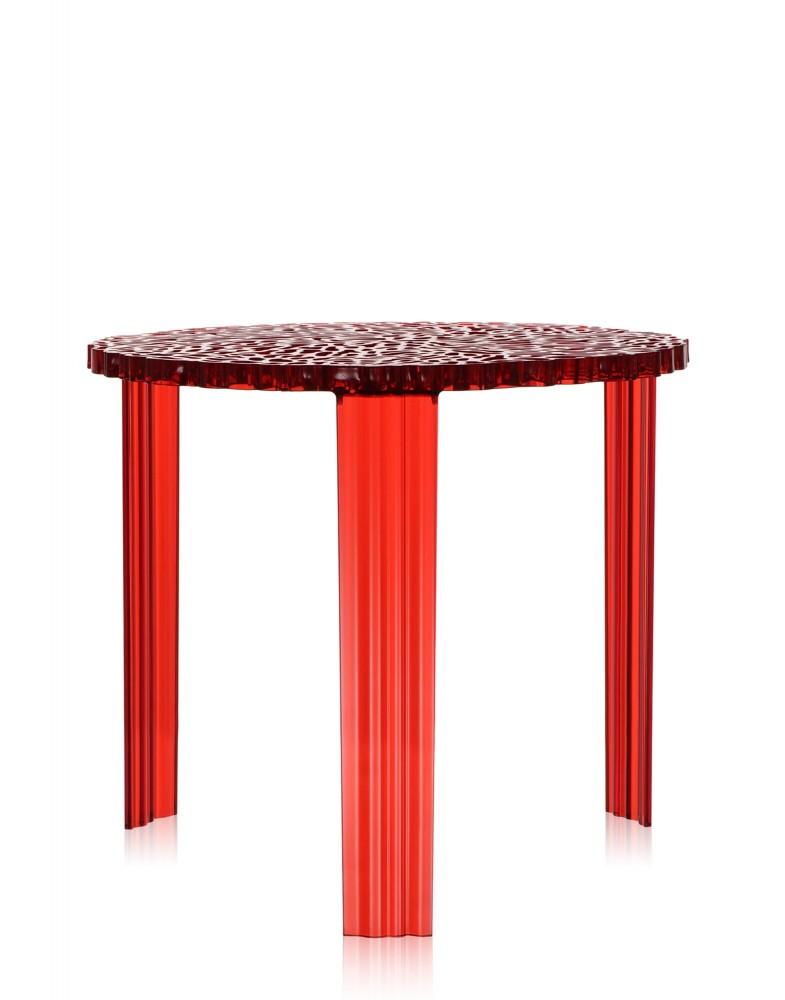 Столик журнальный T-Table (красный) высота 36см