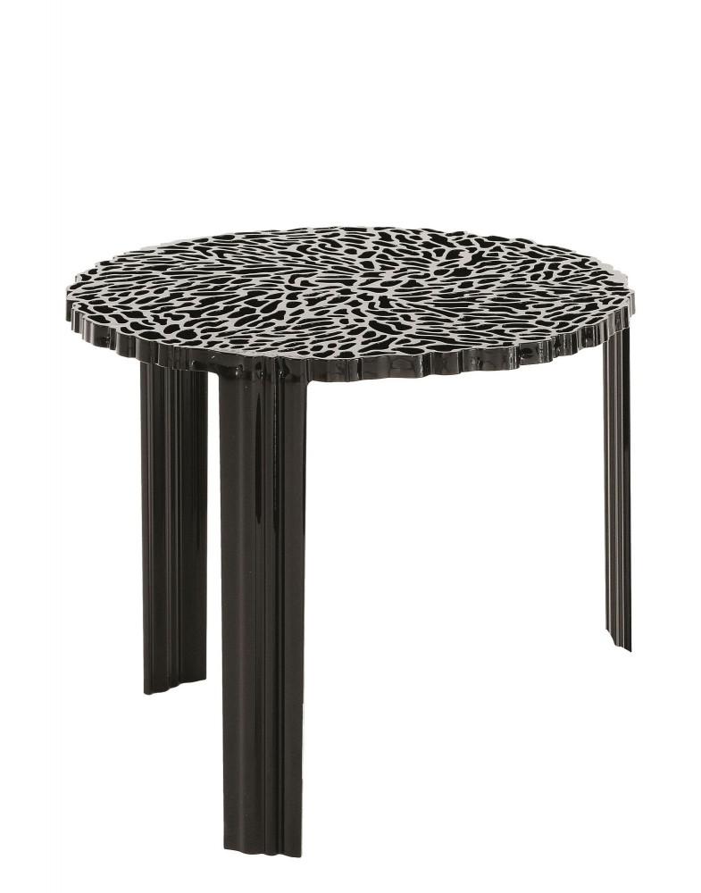 Столик журнальный T-Table (черный) высота 44см