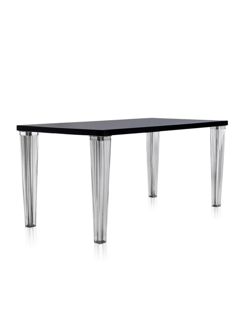 Стол обеденный TopTop (черный) 160x80см