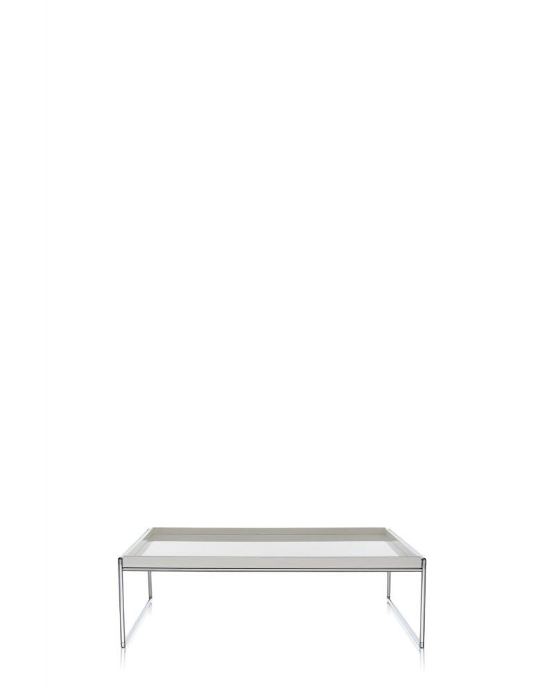 Столик журнальный Trays (белый) 80x40см
