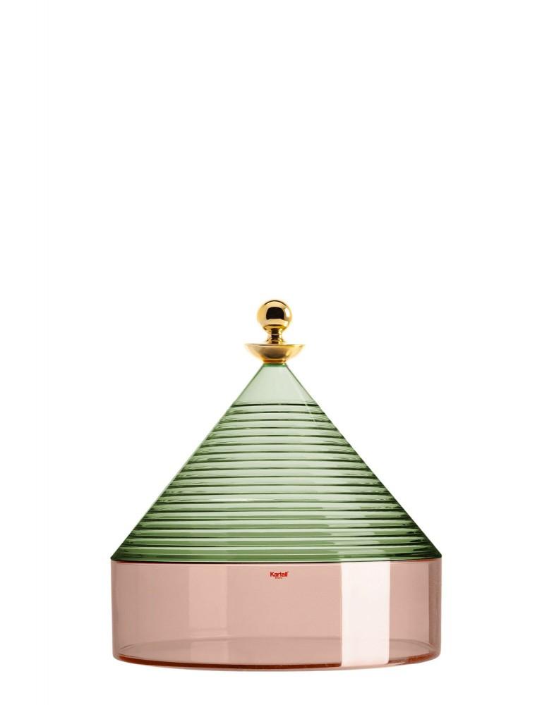 Клош Trullo (зеленый/розовый)