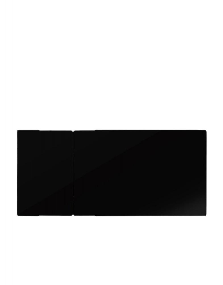 Стол раздвижной Zoom (черный) 120x70см